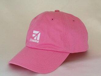 """""""CESSNA"""" pink cap"""