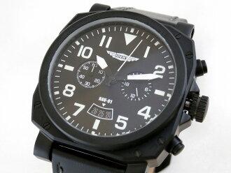 (Trintech) Trintec IDENT Instrument Inspired Aviator watch #NAV-01