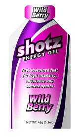 トレイルランニング Shotz Energy Gel Wild Berry ショッツ エナジージェル(カーボショッツ) ワイルドベリー 【トレイルランニング 対象商品】 【代引不可】