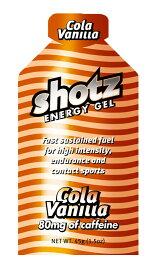Shotz Energy Gel Cola Vanilla ショッツ エナジージェル(カーボショッツ) コーラバニラ 【トレイルランニング 対象商品】 【代引不可】