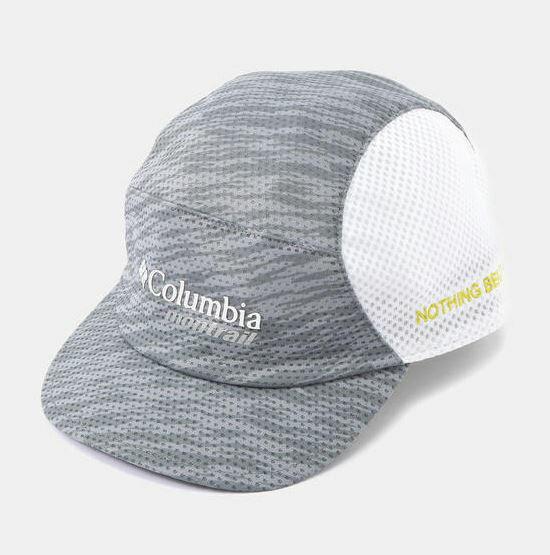 Columbia Montrail ナッシングビーツアトレイルランニングキャップIIIライト (ライトグレー)
