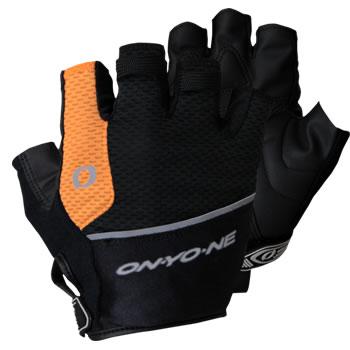 【郵便のみ】【ONYONE/オンヨネ】 Glove with Finger Cover (Black x Orange) / 指カバー付きグローブ ブラックxオレンジ