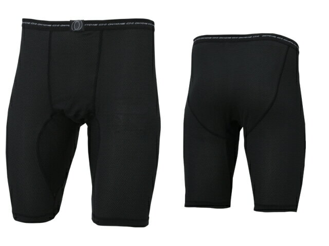 【ONYONE/オンヨネ】 Mens Breath tech PP Half Tights Black / メンズ ブレステックPP ハーフタイツ ブラック