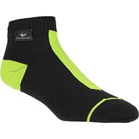 【SealSkinz/シールスキンズ】Road Socklet (BK/YL) / 防水ソックス ブラックxイエロー 【ラッキーシール対応】