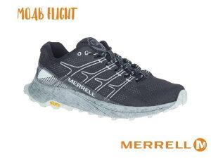 merrell / メレル モアブ フライト BK (黒) メンズ トレイルランニング シューズ トレラン スパイク 軽登山 靴 ハイキング ローカット MOAB FLIGHT Men's Trail Running Shoes 100-j066751-110 999