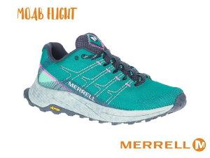 merrell / メレル モアブ フライト MR (マリーン) レディース ウィメンズ トレイルランニング シューズ トレラン スパイク 軽登山 靴 ハイキング ローカット MOAB FLIGHT Women's Trail Running Shoes 100-j06681