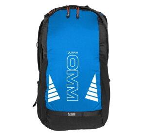 【OMM/オリジナルマウンテンマラソン】 Ultra 8 (Blue Black) / ウルトラ8 ブルーブラック トレイルランニング リュック バックパック ザック トレラン ランニング