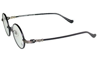 WOLFY chrome hearts eyewear, glasses black