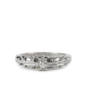 铬的心婴儿经典花卉跨环铺平道路的钻石铬婴儿经典花卉交叉环镶钻钻石