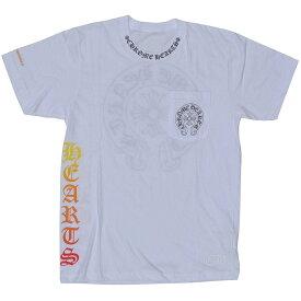 CHROME HEARTS HALF SLEEVE T-SHIRT HORSESHOE WHITE クロムハーツ 半袖Tシャツ 新作 ホースシュー メンズ ホワイト