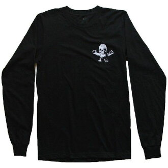 CHROME HEARTS LONG SLEEVE T-SHIRT FOTI鉻赫茨人長T恤黑色FOTI