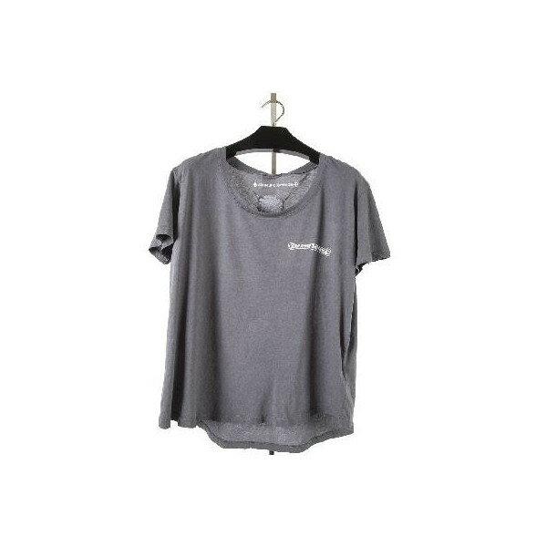 CHROME HEARTS LADIES HALF SLEEVE T-SHIRT PPO クロムハーツ レディース Tシャツ  PPO   CH スクロールレーベル