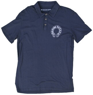CHROME HEARTS MENS POLO SHIRT WHITE鉻赫茨人開領短袖襯衫白