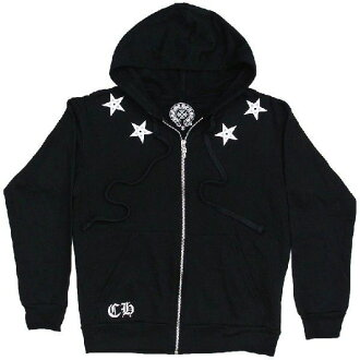 铬的心连帽衫星星黑铬心席卷帕克明星黑色