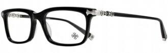 有趣的 HATCH-A 黑色 54-18-148 铬心眼镜眼镜