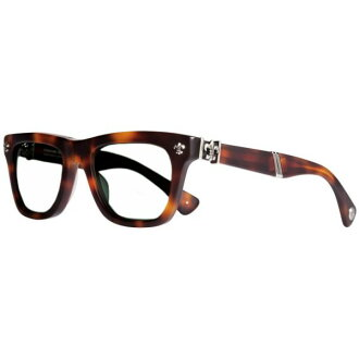 52-20-145 TORTOISE BUTTERSCOTCH MATTE DROOLIN chrome hearts eyewear