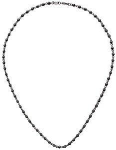 CHROME HEARTS TINY BEADED CHAIN NECKLACE クロムハーツTINY BEADED チェーンネックレス 18インチ