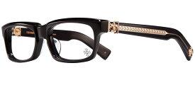 CHROME HEARTS SPLAT-A BLACK-GOLD PLATED 55-17-143 クロムハーツ アイウェア 眼鏡