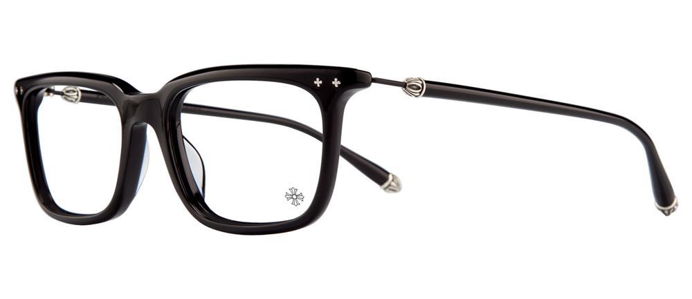BIG RICKY II-A BLACK 54-18-148 クロムハーツ アイウェア 眼鏡