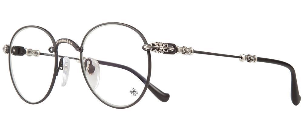 BUBBA-A MATTE BLACK-PLASTIC 49-22-145 クロムハーツ アイウェア 眼鏡