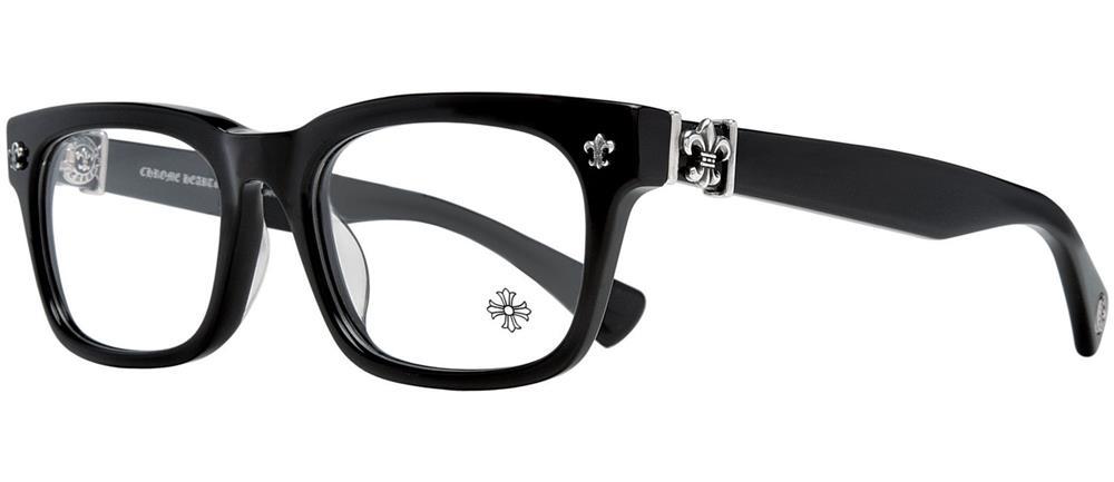 GITTIN ANY?-A BLACK 52-19-145 クロムハーツ アイウェア 眼鏡