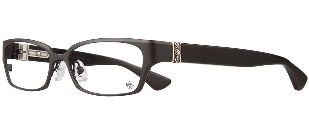 DIXON YU-A Matte Black - Matte Black - Plastic クロムハーツ アイウェア 眼鏡