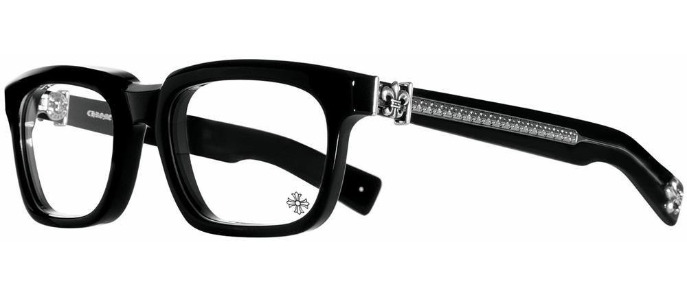SEE YOU IN TEA BLACK 53-20-143 クロムハーツ アイウェア 眼鏡