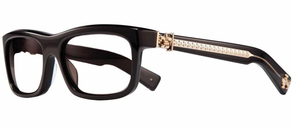 MYDIXADRYLL BLACK GOLD PLATED 55-18-135 クロムハーツ アイウェア 眼鏡 2019 EYEWEAR