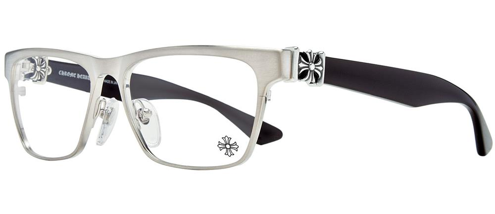 PETCOCK BRUSHED SILVER 54-15-146 クロムハーツ アイウェア 眼鏡