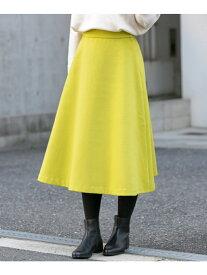 [Rakuten Fashion]ダブルフェイスフレアスカート Sonny Label サニーレーベル スカート スカートその他 イエロー カーキ グレー ピンク ネイビー【送料無料】