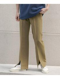 [Rakuten Fashion]【SALE/40%OFF】ストレッチセンタースリットパンツ Sonny Label サニーレーベル パンツ/ジーンズ パンツその他 グリーン ブラック【RBA_E】【送料無料】