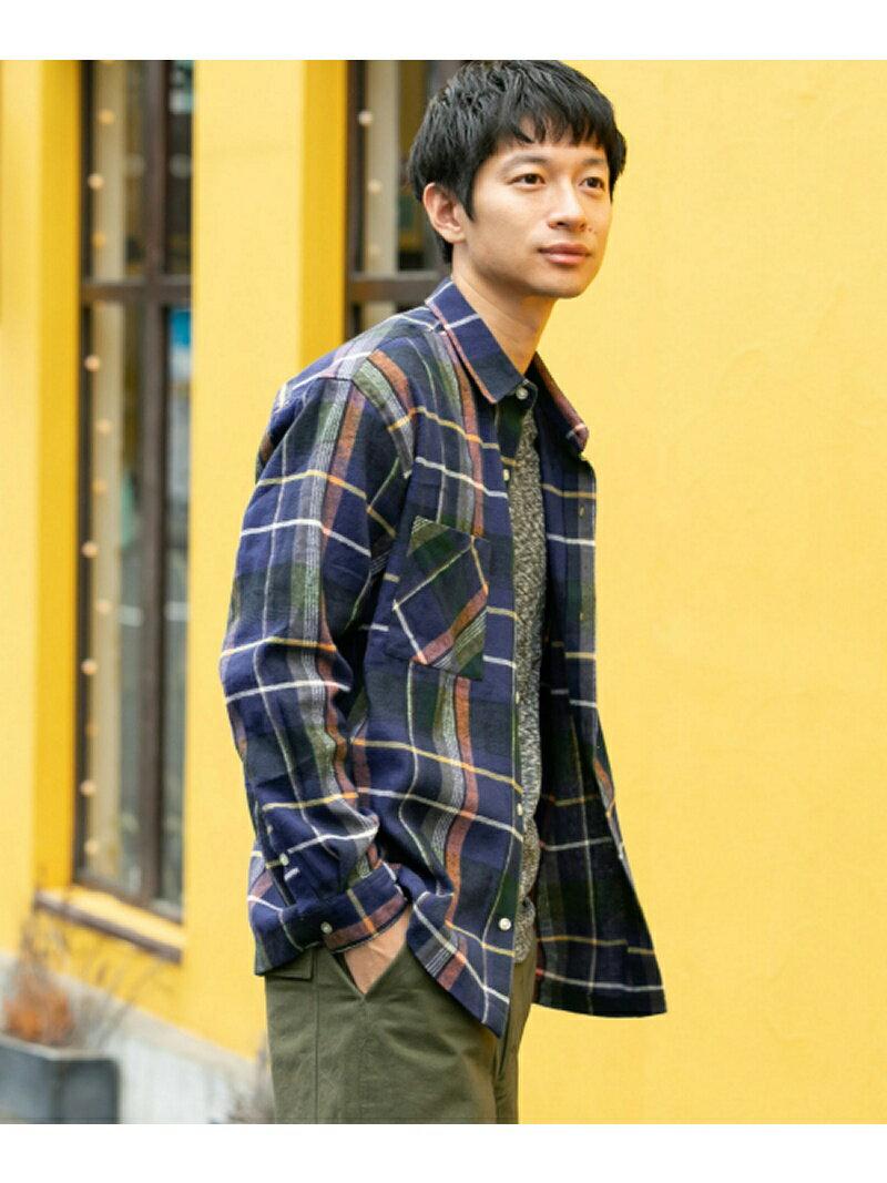 [Rakuten BRAND AVENUE]【SALE/30%OFF】オーバーサイズチェックシャツ Sonny Label サニーレーベル シャツ/ブラウス【RBA_S】【RBA_E】【送料無料】