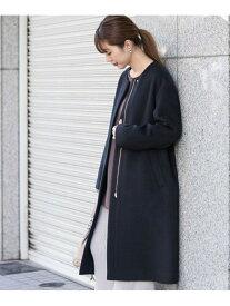 [Rakuten Fashion]【SALE/30%OFF】ノーカラーウールコート Sonny Label サニーレーベル コート/ジャケット ノーカラージャケット ネイビー ブラウン グレー【RBA_E】【送料無料】