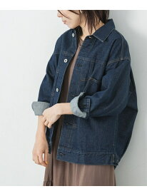 [Rakuten Fashion]【予約】オーバーサイズデニムジャケット Sonny Label サニーレーベル コート/ジャケット デニムジャケット ホワイト ネイビー ブルー【先行予約】*【送料無料】