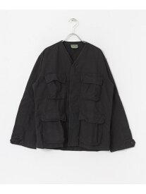[Rakuten Fashion]ROTHCO BDU SHIRTS V-NECK Sonny Label サニーレーベル コート/ジャケット ノーカラージャケット ブラック カーキ【送料無料】