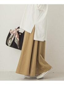 [Rakuten Fashion]【SALE/50%OFF】リネンフレンチロングスカート Sonny Label サニーレーベル スカート スカートその他 ベージュ ホワイト【RBA_E】【送料無料】