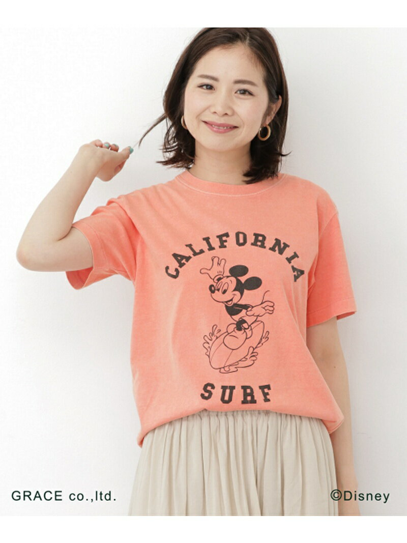 [Rakuten BRAND AVENUE]【SALE/40%OFF】California Surf Mickey Tシャツ Sonny Label サニーレーベル カットソー【RBA_S】【RBA_E】