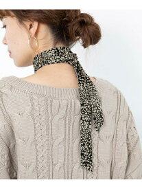 [Rakuten Fashion]【SALE/50%OFF】スカーフネックレス Sonny Label サニーレーベル ファッショングッズ スカーフ/バンダナ ホワイト ブラウン ベージュ イエロー【RBA_E】