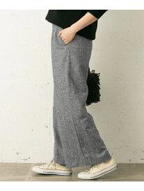 [Rakuten Fashion]ツイードワイドパンツ Sonny Label サニーレーベル パンツ/ジーンズ パンツその他 ブラック ブラウン【送料無料】