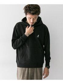 [Rakuten Fashion]【SALE/22%OFF】KANGOL別注ロゴフーディー Sonny Label サニーレーベル カットソー パーカー ブラック グレー ブラウン ブルー【RBA_E】【送料無料】