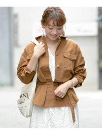 [Rakuten Fashion]サファリジャケット Sonny Label サニーレーベル コート/ジャケット コート/ジャケットその他 ブラウン ベージュ カーキ【送料無料】
