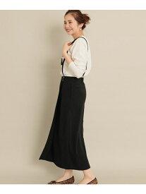 [Rakuten Fashion]サスペンダータイトスカート Sonny Label サニーレーベル スカート スカートその他 ブラック カーキ【送料無料】