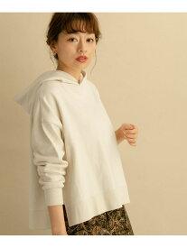 [Rakuten Fashion]コットンワイドパーカー Sonny Label サニーレーベル カットソー パーカー ホワイト グレー ピンク レッド【送料無料】