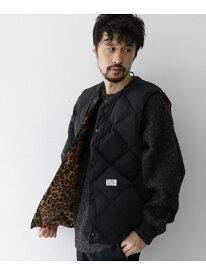 [Rakuten Fashion]MAGIC NUMBER SKYLINER DOWN VEST Sonny Label サニーレーベル コート/ジャケット アウターベスト ブラック カーキ【送料無料】
