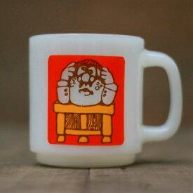 【中古】Glasbake MUG CUP/Glasbake/グラスベイク/mug/cup/マグカップ/white/ホワイト/ヴィンテージ/vintage/used//船橋/千葉/古着/US古着/アメリカ古着/古着屋sleep