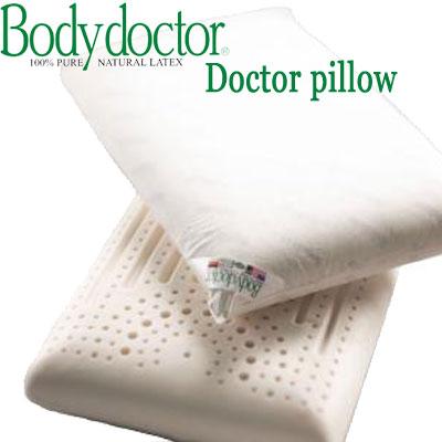 ボディドクター (Bodydoctor)ドクターピロー マシュマロのような柔らかさ♪天然素材発泡ゴム100%ラテックス 枕 まくら