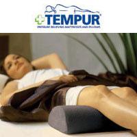 テンピュール ユニバーサルピロー tempur まくら クッション 足枕 むくみ フットピロー かかと 半円形