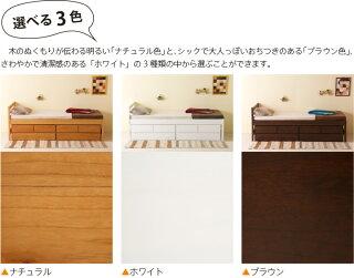 木製ベッド「スタイル(S)シングル【ハイベッド+ベンチチェスト2台】」