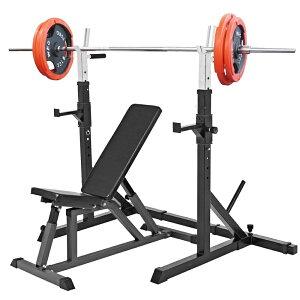 《パッドプレゼント中》トレーニングセットB 赤ラバー 105kg[Slim Fit スリムフィット] 送料無料 バーベル ダンベル ベンチプレス トレーニング器具 自宅 大胸筋 腹筋 上腕筋