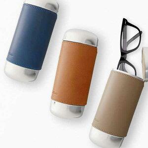 【2019年新仕様】BT Ovalグラスケース【メール便不可】 眼鏡ケース メガネケース スリム ハード めがねケース 本革 眼鏡入れ サングラスケース おしゃれ 大人 シンプル フォーマル カジュアル